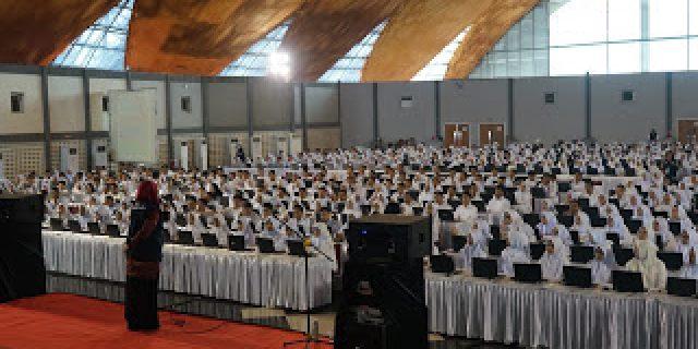 2000 Peserta SKD CPNS Pemkab Bekasi Telah Dimulai