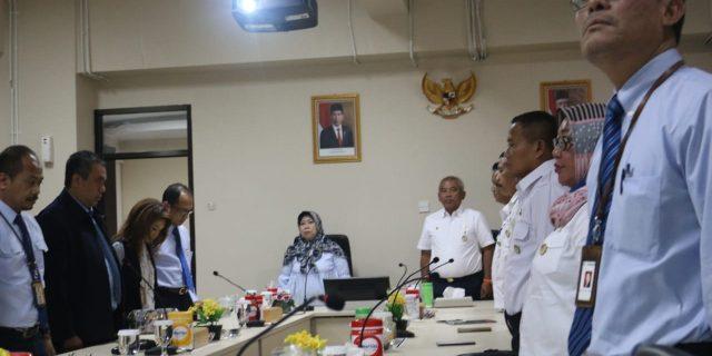 Kujungan Wali Kota Bekasi ke kanwil DJP Wilayah III Jawa Barat