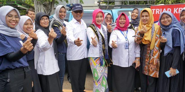 Tugas Perdana Kaper bkkbn jabar di Indramayu