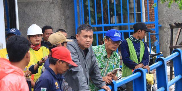 Wakil Walikota Bekasi,Tri Adhianto Telusuri Kali Bekasi Bendungan Prisdo