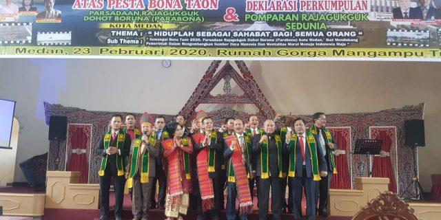 DPP Pomparan Rajagukguk se Dunia Dideklarasikan