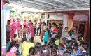 Bhayangkari Yon D Pelopor Gelar Bakti Sosial Korban Banjir