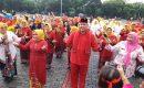 Sambut HUT Kota Bekasi Ke-23, OPD Gelar Lomba Senam Flashmob Sekoper