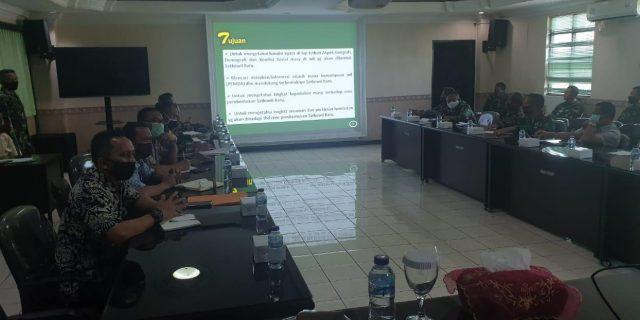 Pemkot Bekasi Gelar Rapat Terbatas persiapan pembangunan Koramil Jatisampurna