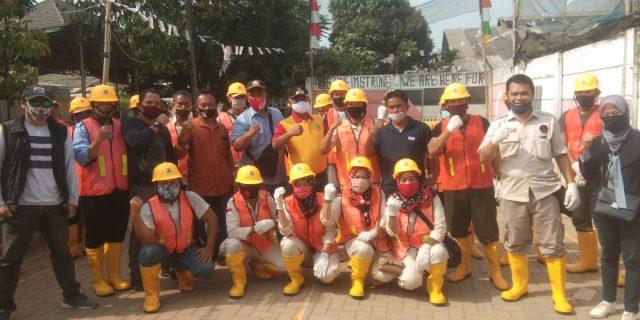 BKM Bojong Menteng Melaksanakan Program Kotaku PUPR