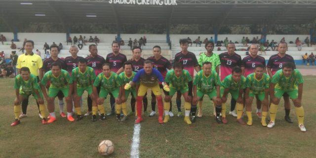 Pertandingan Persahabatan FC .Ciketing United Old Star VS Persipasi Patriot