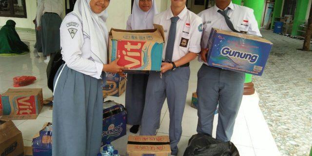 Gerakan Peduli Longsor Brebes di SMAN 14 Kota Bekasi