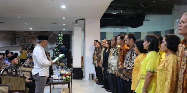 Puncak Ibadah Natal PPKPPKB, Pepen: Mari Bangun Kedamaian