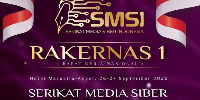 Usulkan Kawasan Industri Digital Bekasi Utara, Ketua Bersama Pembina SMSI Bekasi Raya Hadiri Rakernas SMSI Pusat.